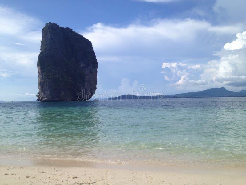 Belle île de Poda - Thaïlande photographie stock