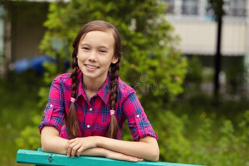 Belle adolescente images libres de droits