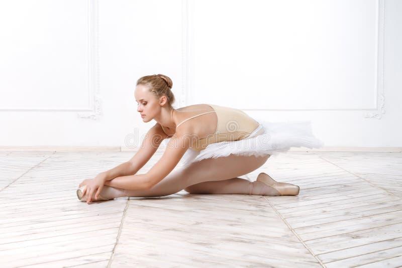Belle ballerine de jeune femme photographie stock libre de droits