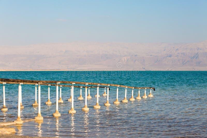 Belle côte de la mer morte images libres de droits