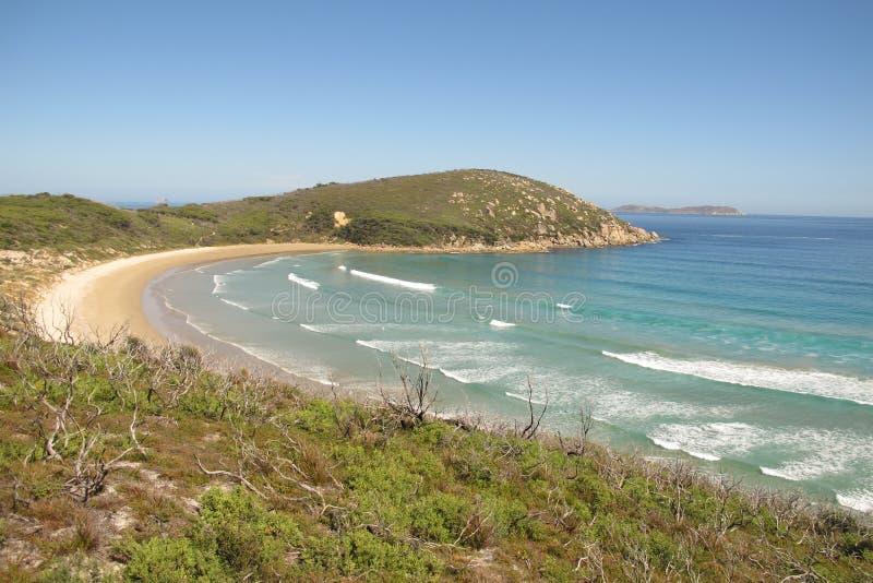 Belle côte australienne en Wilson Promontory National Park images stock