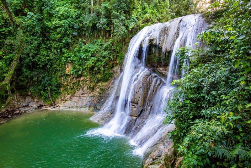 Belle cascade de Gozalandia en San Sebastian Puerto Rico photographie stock