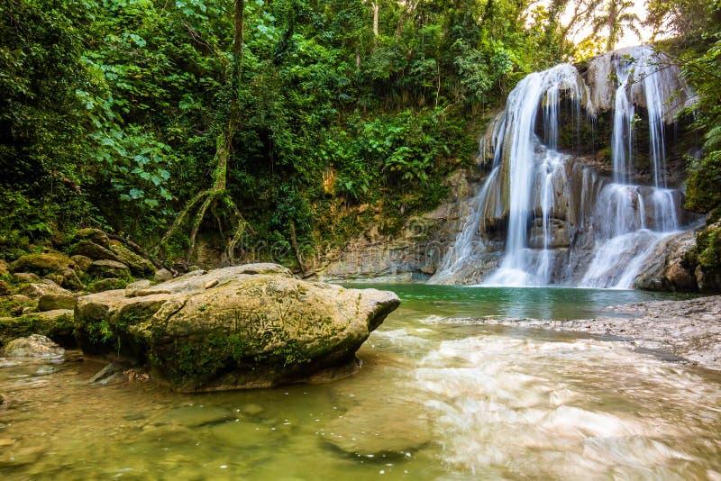 Belle cascade de Gozalandia en San Sebastian Puerto Rico photo libre de droits