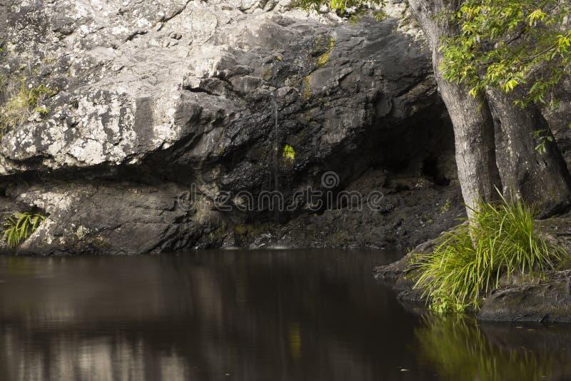Belle cascade de Kondalilla photo libre de droits