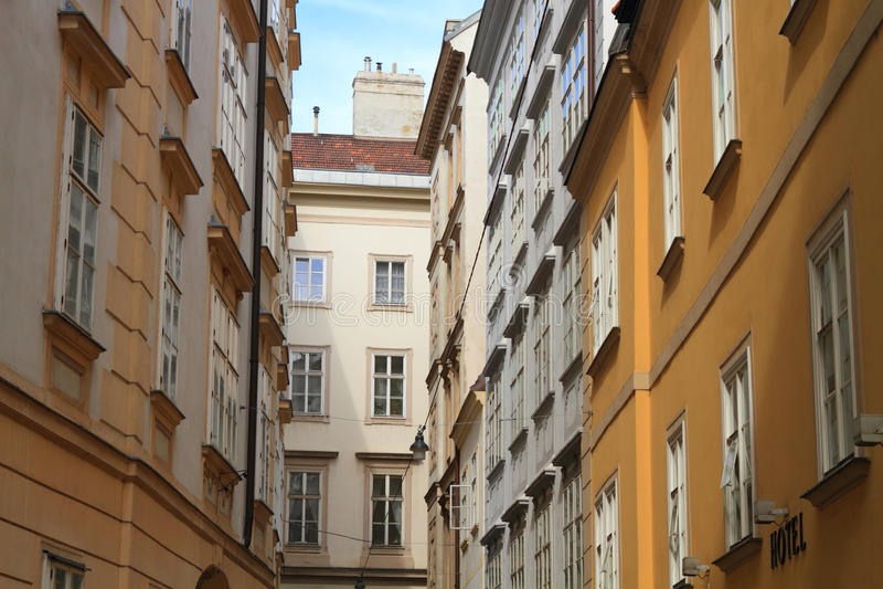 Belle case europee fotografia stock