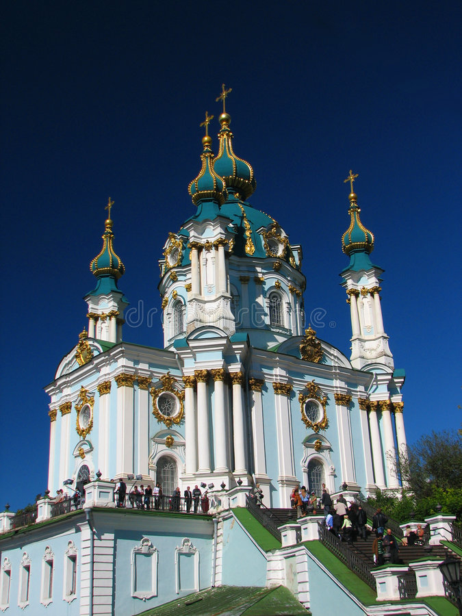 Belle cathédrale image stock