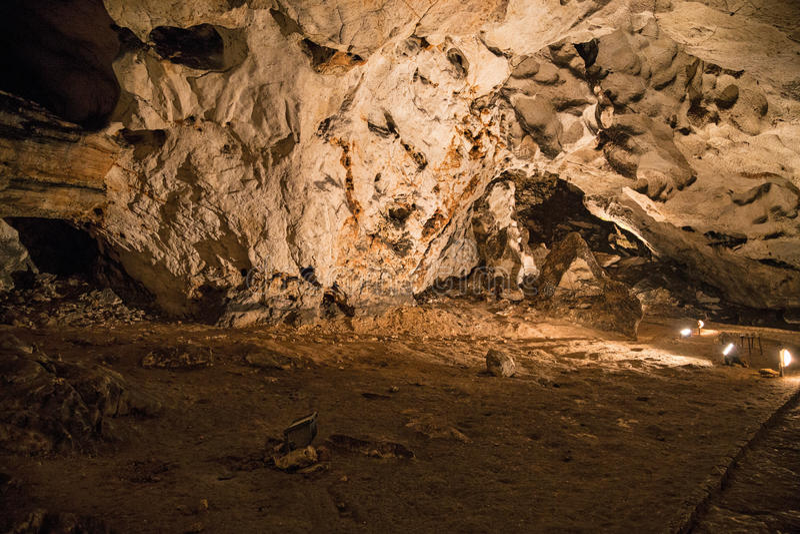 Belle caverne images stock