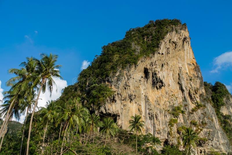 Belle chaux scénique chez Phi Phi dans Krabi, Thaïlande photo stock