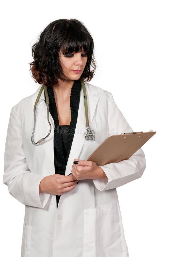Belle chirurgienne de femme photo stock