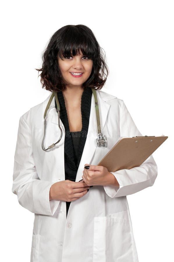 Belle chirurgienne de femme image stock