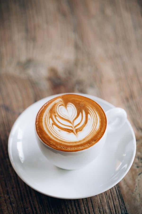 Belle configuration d'appartement d'art de latte photos stock