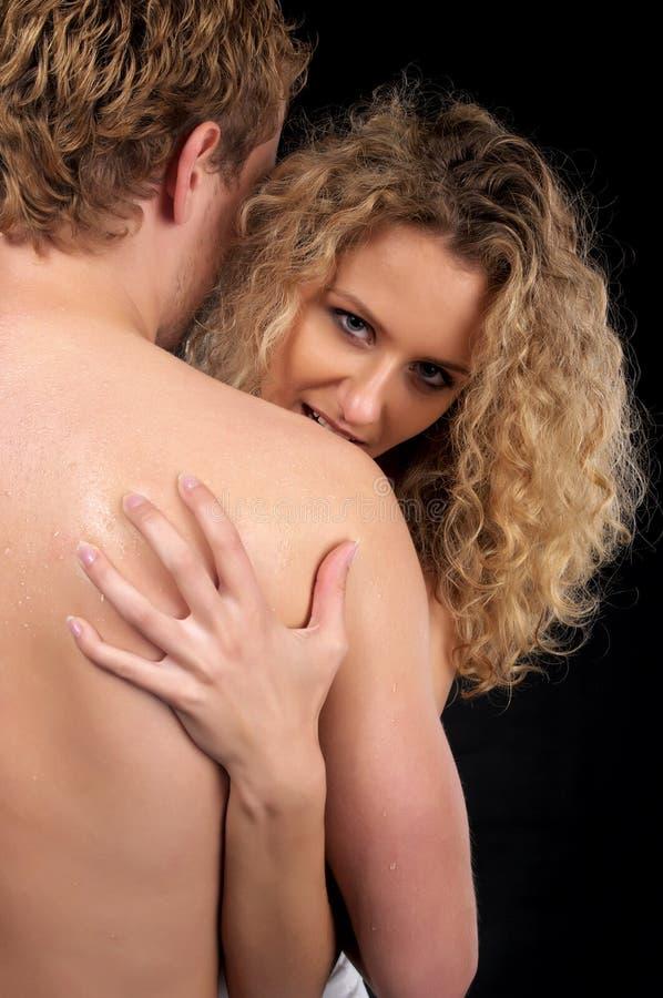 Belle coppie nude fotografia stock libera da diritti