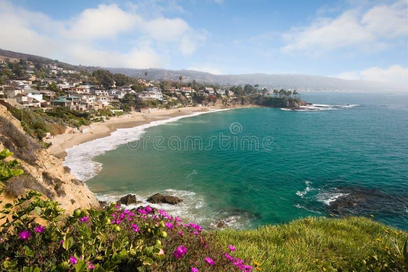 Belle crique de plage images libres de droits