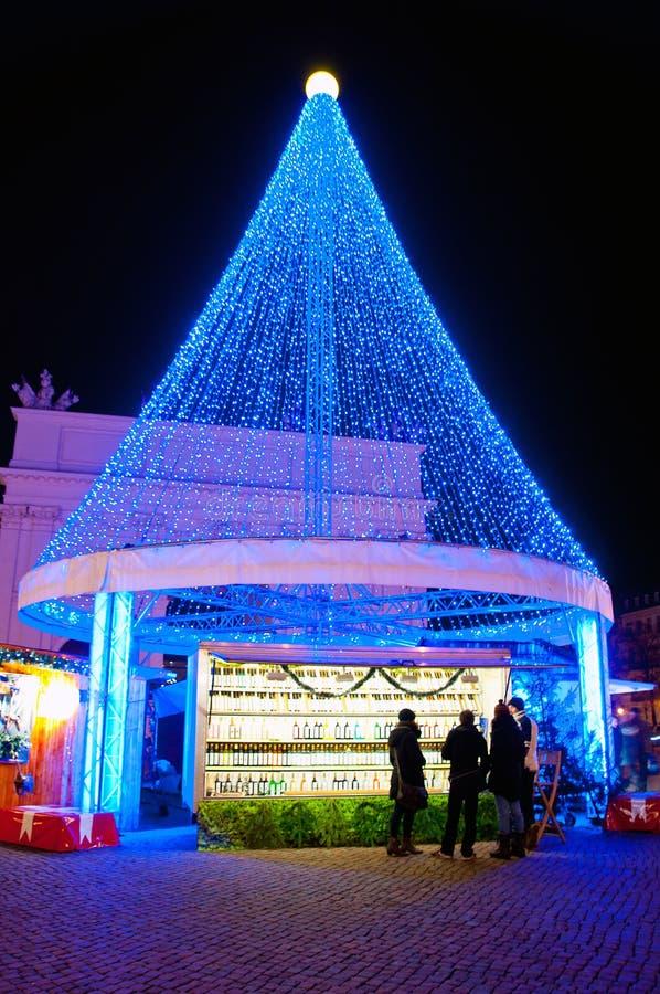 Belle décoration de Noël, Potsdam photos libres de droits