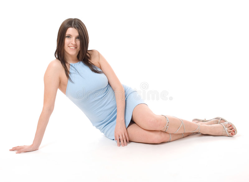 Belle dame photographie stock