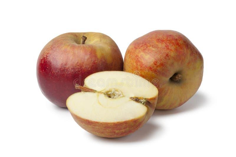 Belle De Boskoop jabłka zdjęcia stock