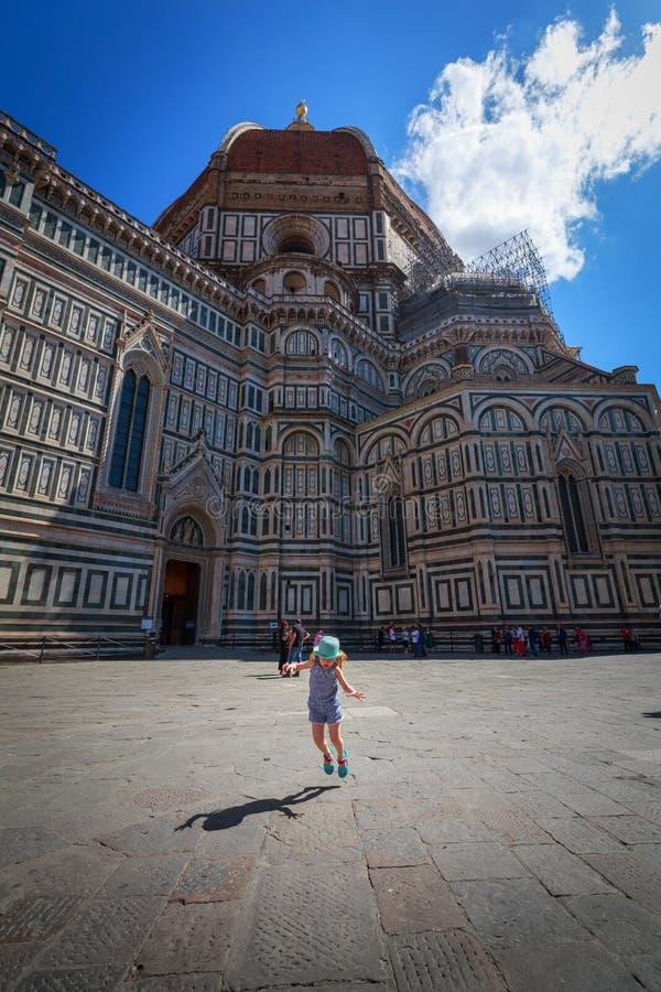 Belle destination de l'Italie Florence photos libres de droits
