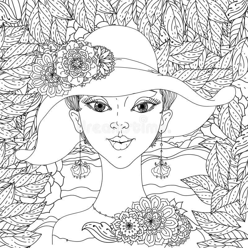 Belle donne di modo illustrazione vettoriale
