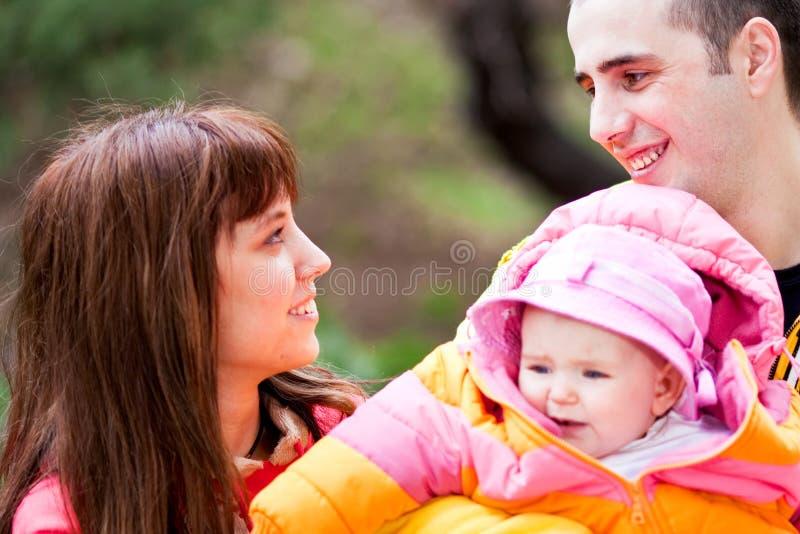 Belle famille photo stock