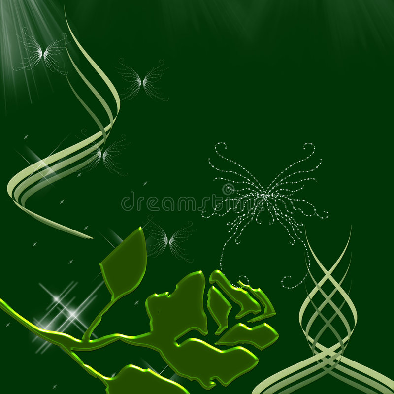 Belle farfalle e scintille del cielo di notte immagini stock