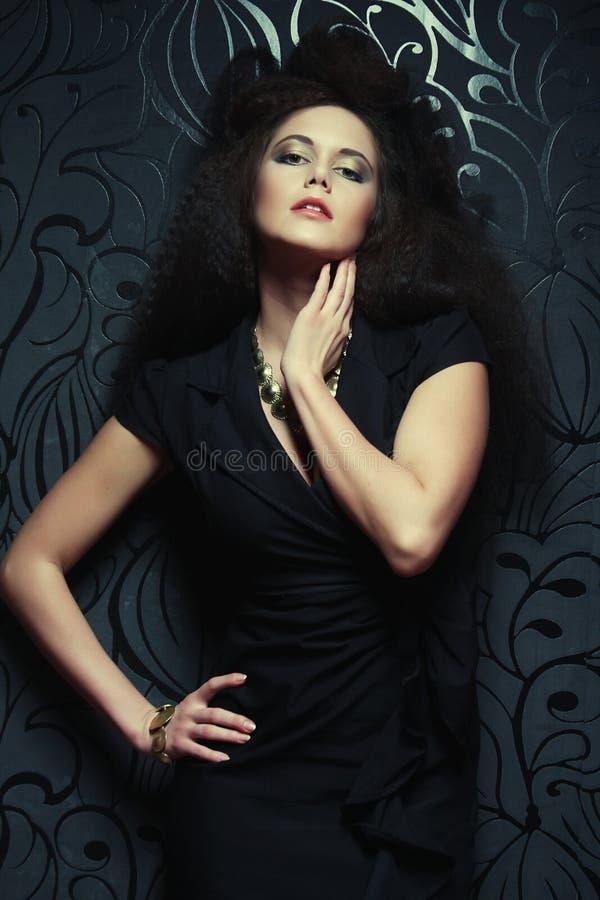 Belle femme à la mode image libre de droits