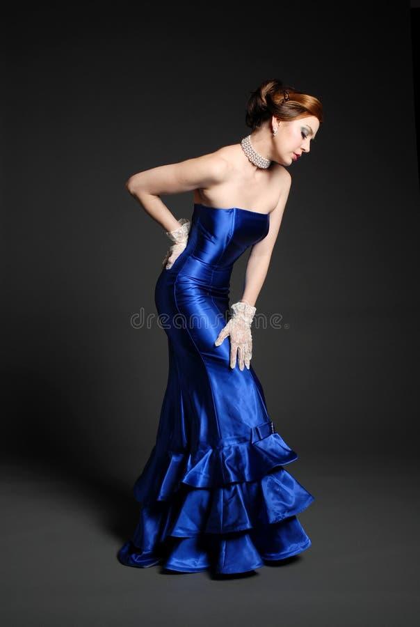 Belle femme à la mode photographie stock libre de droits