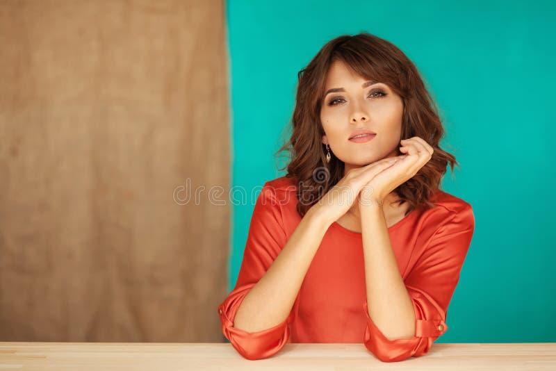 belle femme élégante photo stock