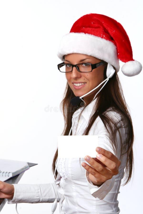 Belle femme adulte d'affaires avec le sourire images stock