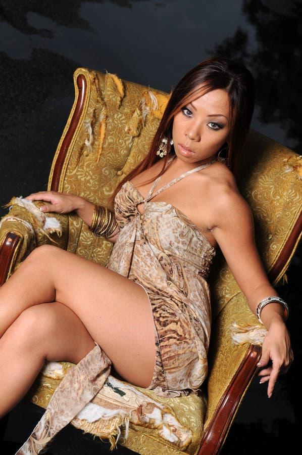 Belle Femme Asiatique Images stock