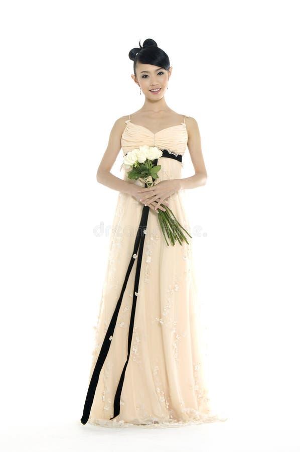 Belle femme asiatique photo stock
