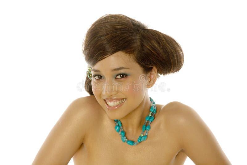 Belle femme asiatique image stock