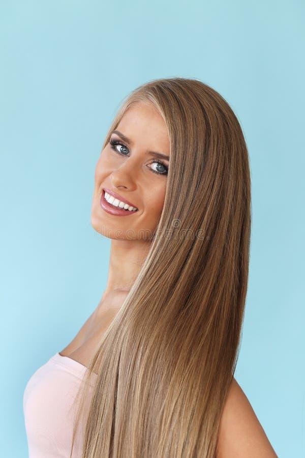 Belle femme blonde photo libre de droits