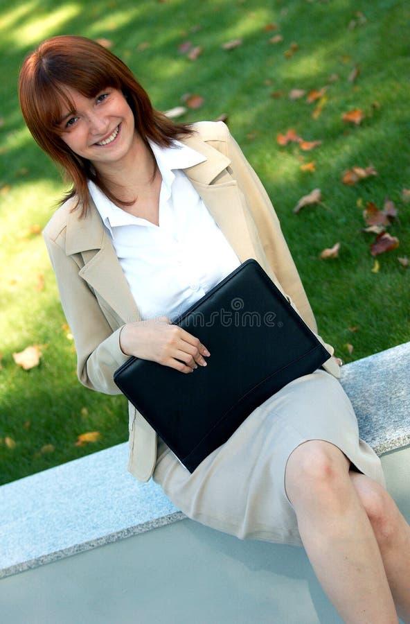 Belle femme d'affaires image libre de droits