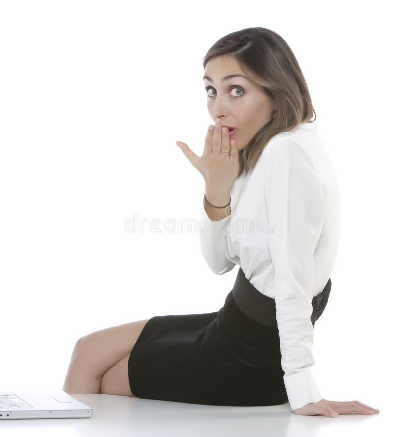 Belle femme d'affaires photos libres de droits