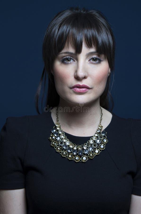 Belle femme de brune photos stock