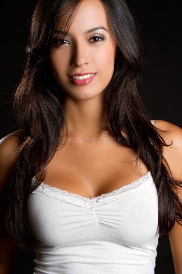 Belle femme de Latina photo libre de droits