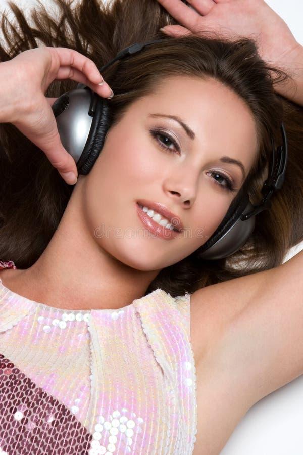 Belle femme de musique photos libres de droits