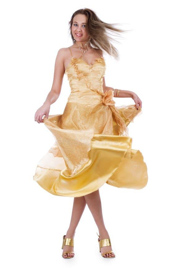 Download Belle Femme De Soirée De Robe Photo stock - Image du beau, brunette: 8654916