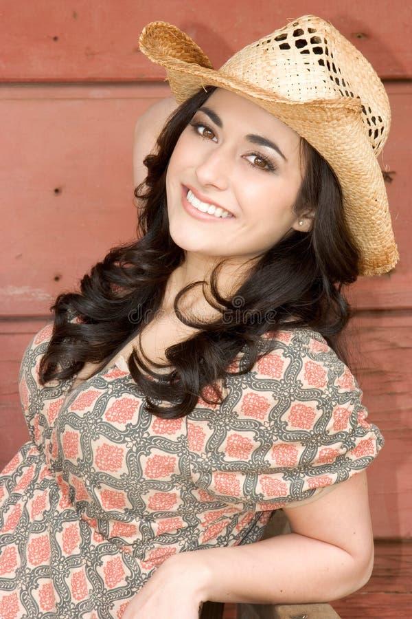Belle femme de sourire photo libre de droits
