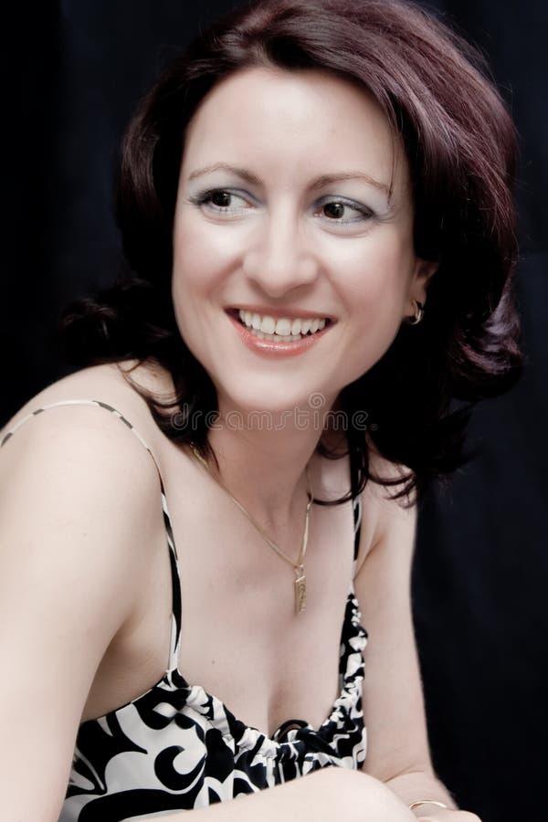 Belle femme heureuse photo libre de droits