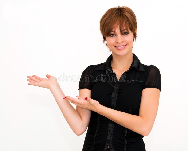 Belle femme heureuse de sourire photos libres de droits