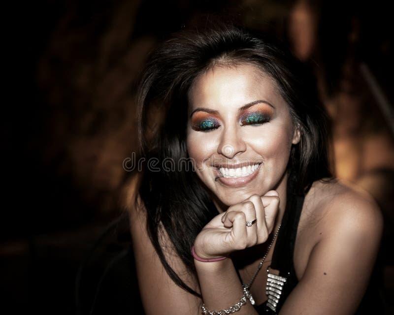 Belle femme hispanique photo libre de droits