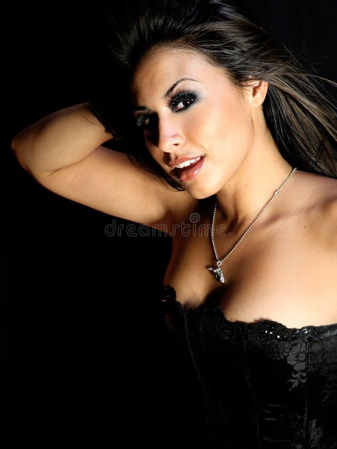 Belle femme hispanique photos stock