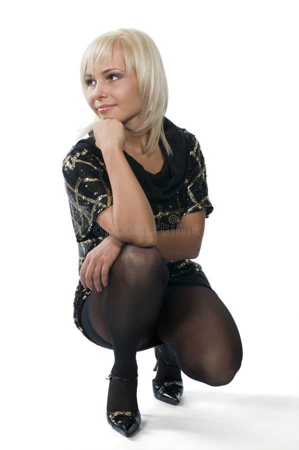 Belle femme la blonde photos libres de droits