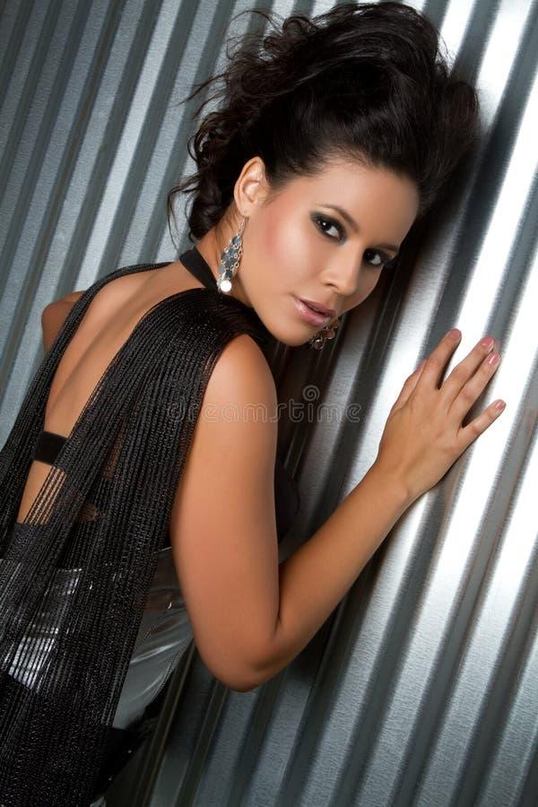 Belle femme latine images libres de droits