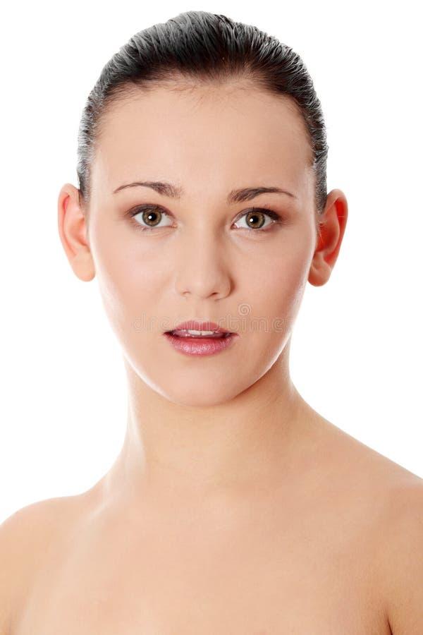 Belle femme nue photo stock