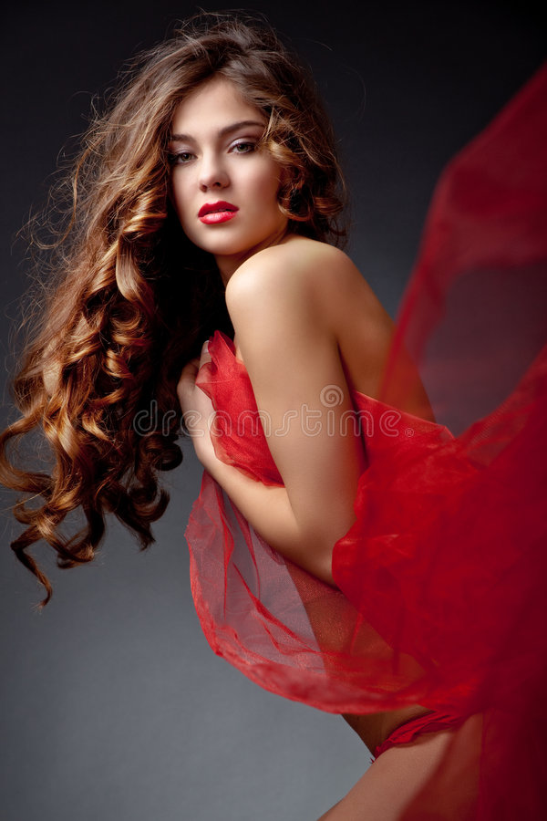 Belle femme sexy image stock
