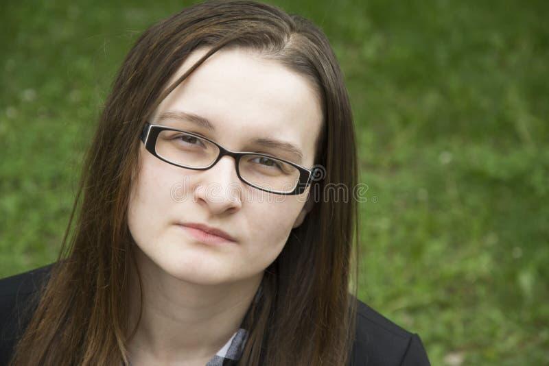 Belle femme triste photo libre de droits