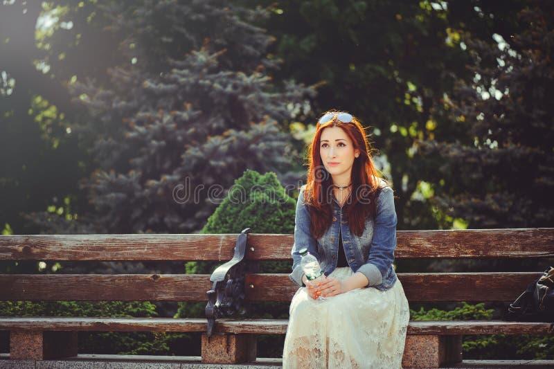 Belle femme triste photos stock