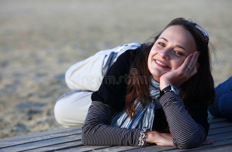 Download Belle fille image stock. Image du appealing, beau, blanc - 45352633